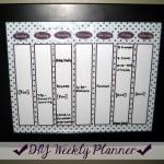 DIY Weekly Planner