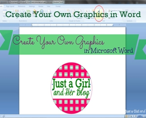 Create Your Own Graphics in Word