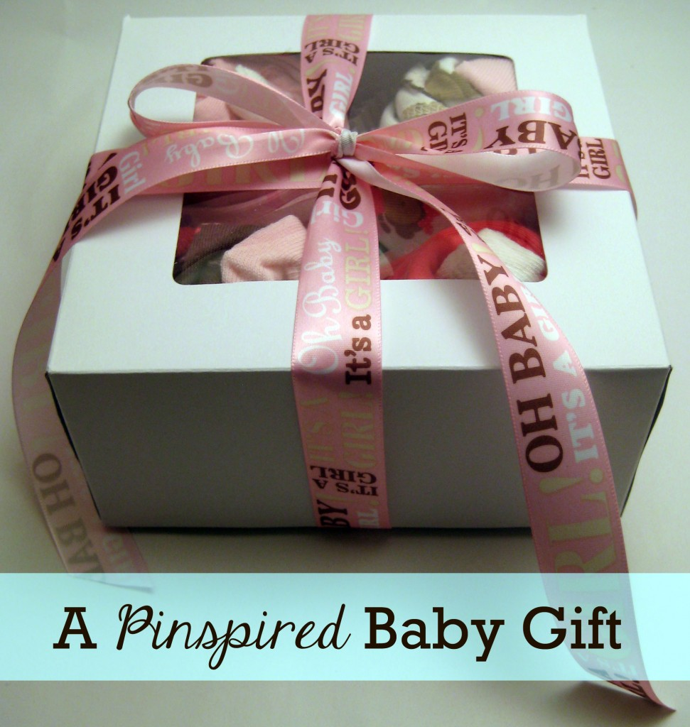 A Pinspired Baby Gift