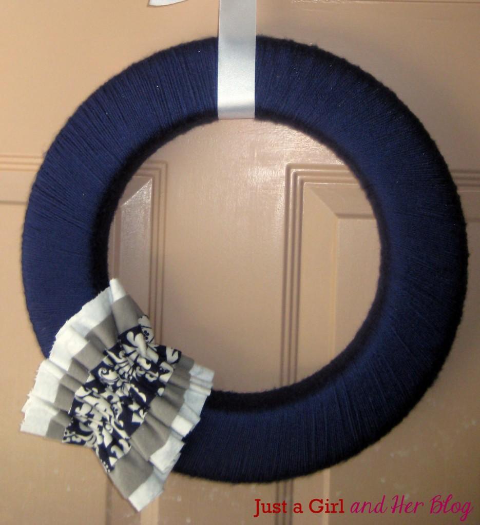 Blue Wreath