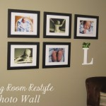 Living Room Restyle- Photo Wall