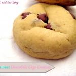 World's Best Chocolate Chip Cookies {Valentine's Edition}