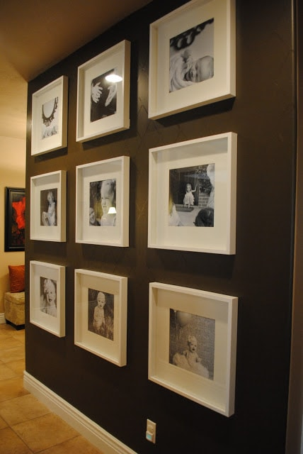 The House Undone Photo Wall
