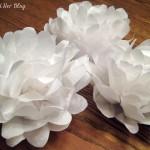 Tissue Paper Flower Tutorial- Style 1