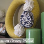 Living Room Restyle- Floating Shelves