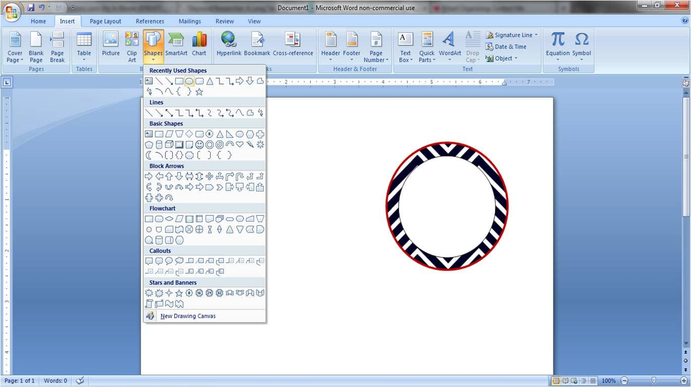 It is a graphic of Genius How to Make Round Sticker Labels in Word