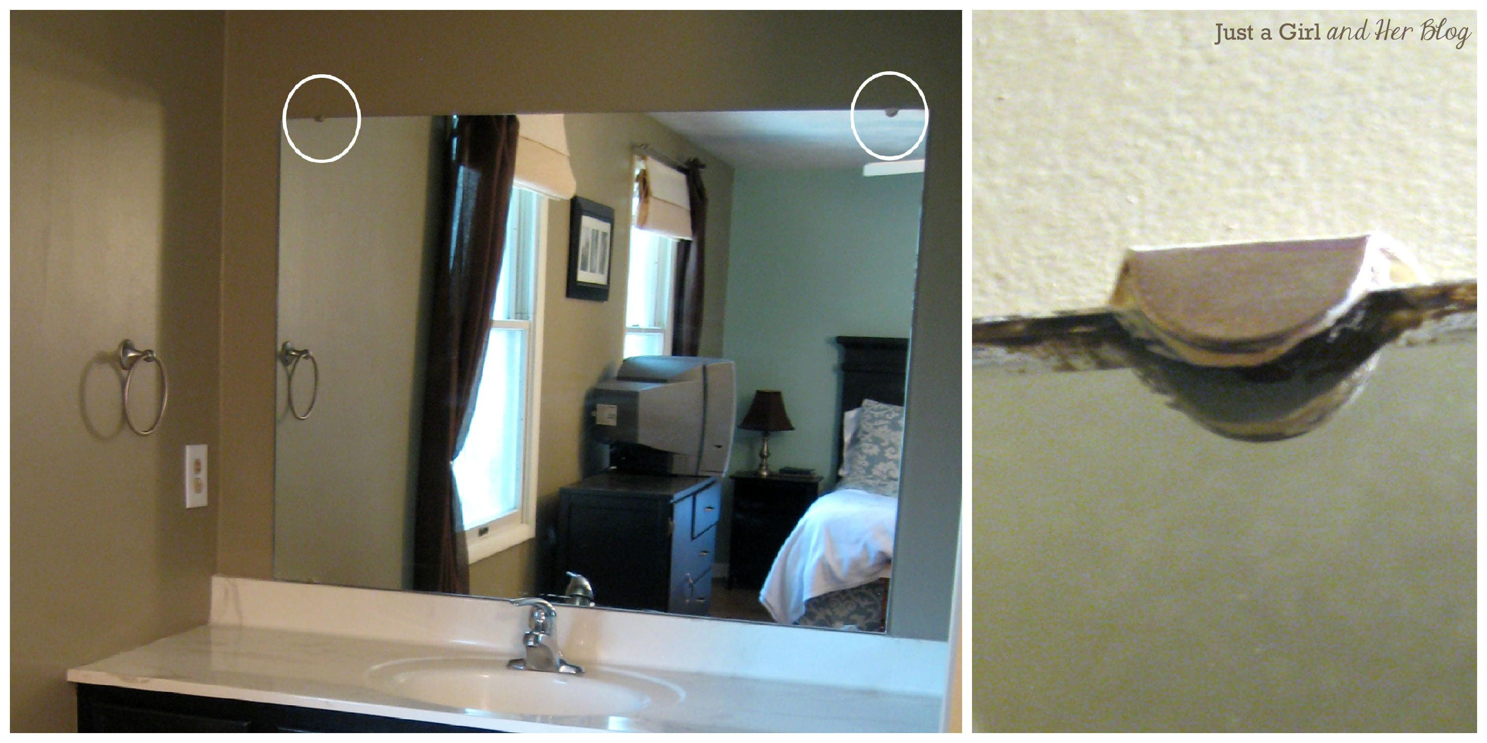 How Do You Remove A Bathroom Mirror - Home Design Ideas and Pictures