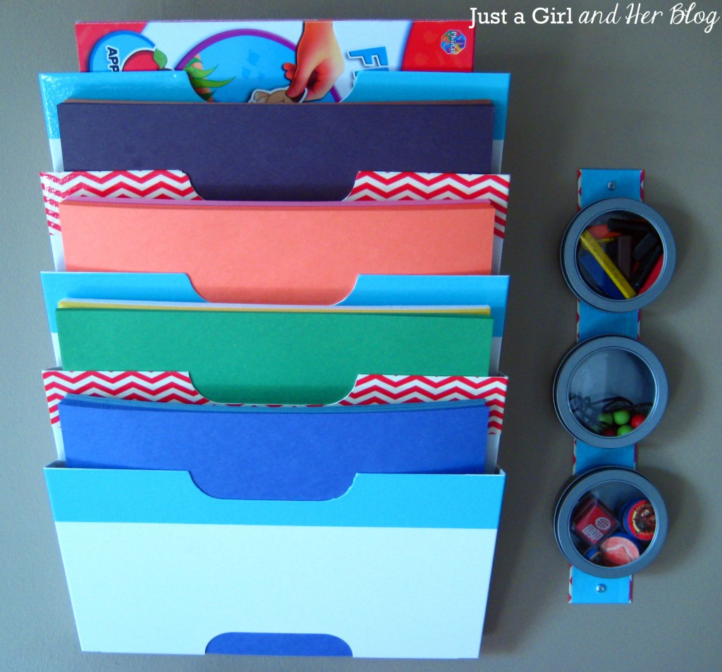 Construction Paper and Magnets