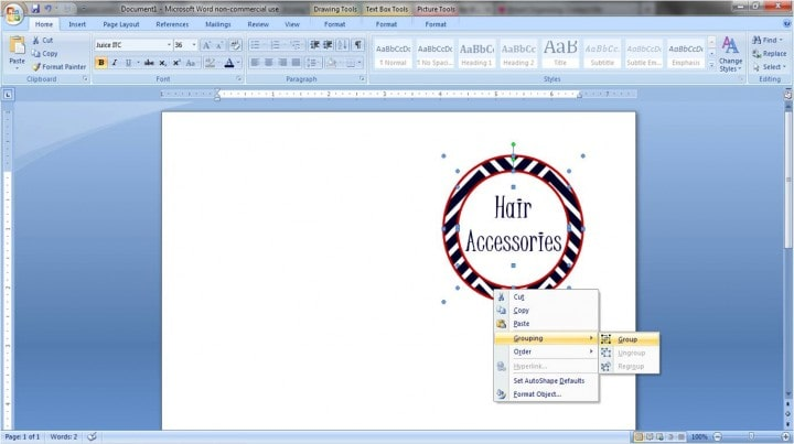 This super easy tutorial teaches you how to make pretty labels in Microsoft Word! No fancy machines required! Click through to the post, and get ready to label everything!!!