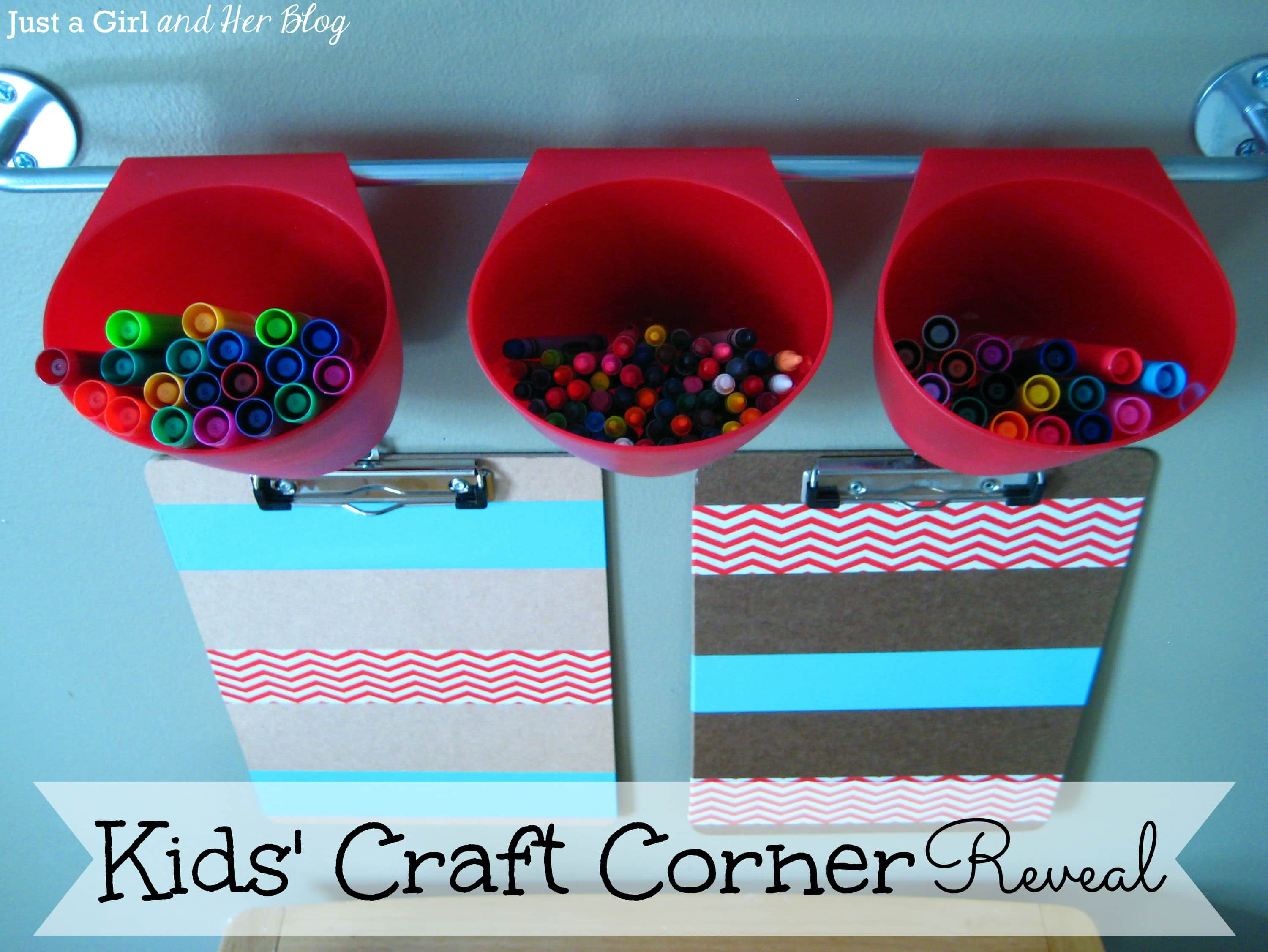 Kids Craft Corner Reveal