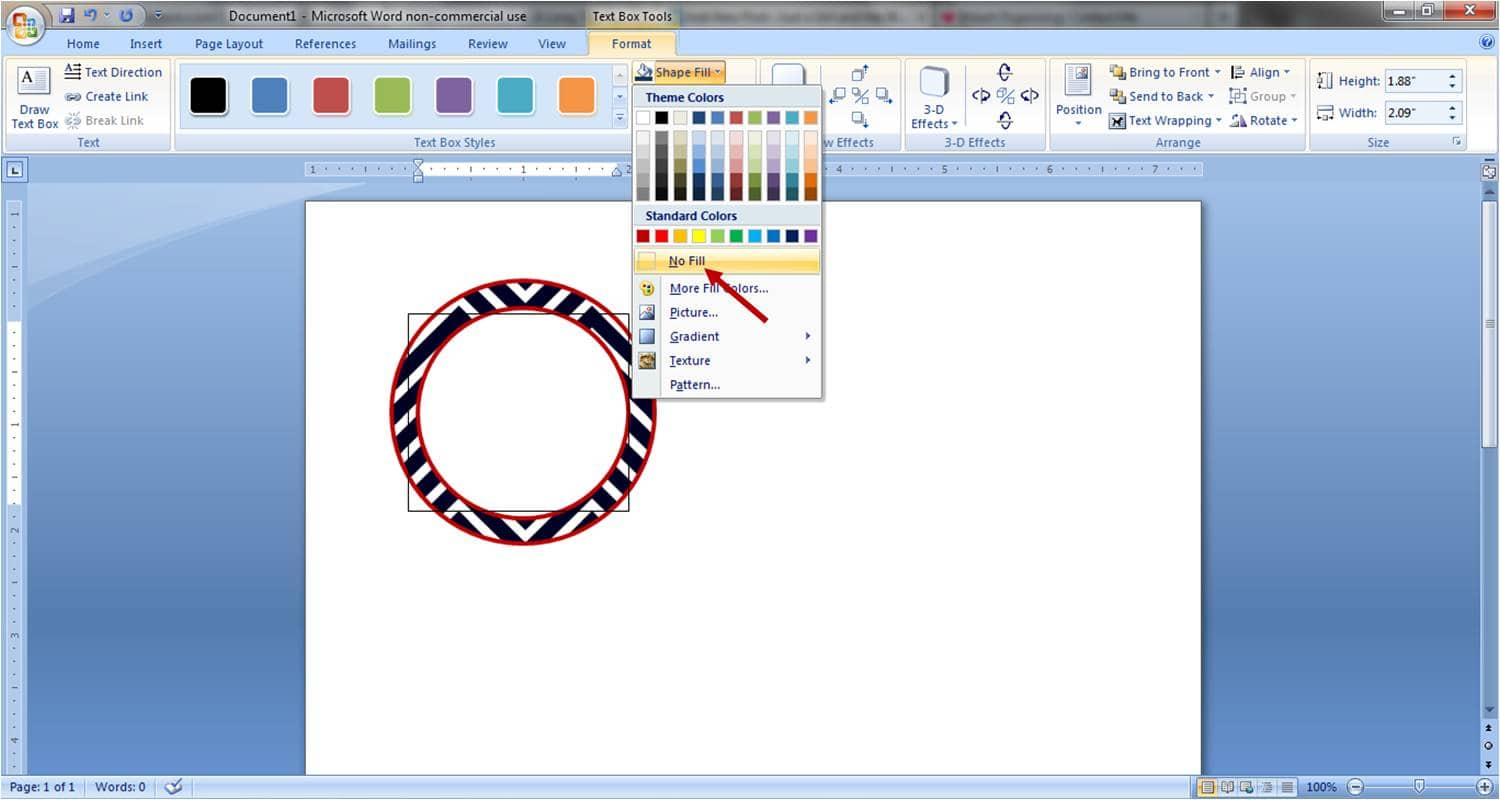 It is a picture of Modest How to Make Round Sticker Labels in Word