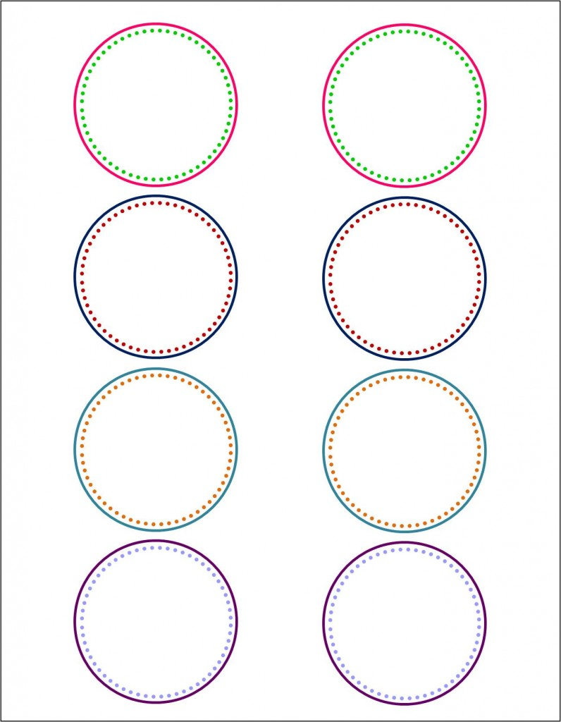 Dynamite image regarding circle printable labels