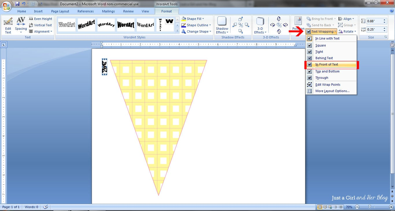 How to Make a Bunting Banner in Word  with Clip Art Tips and Tricks e3FX7pxu