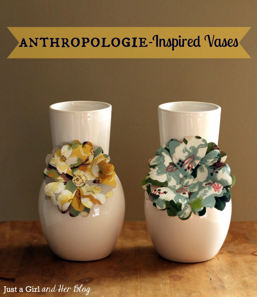 Anthropologie-Inspired Vases