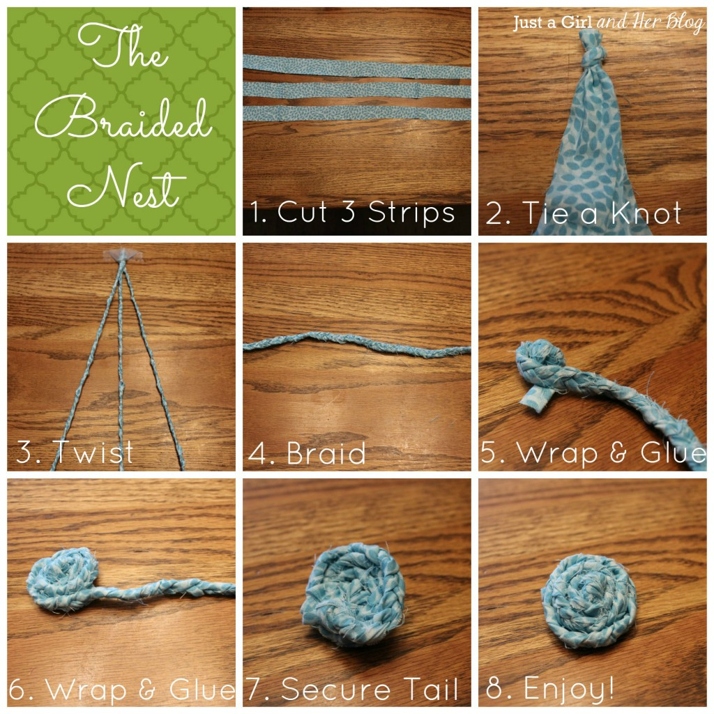 Braided Nest Instructions