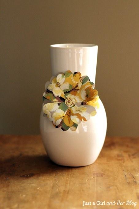 Anthropologie-Inspired Flower Vases