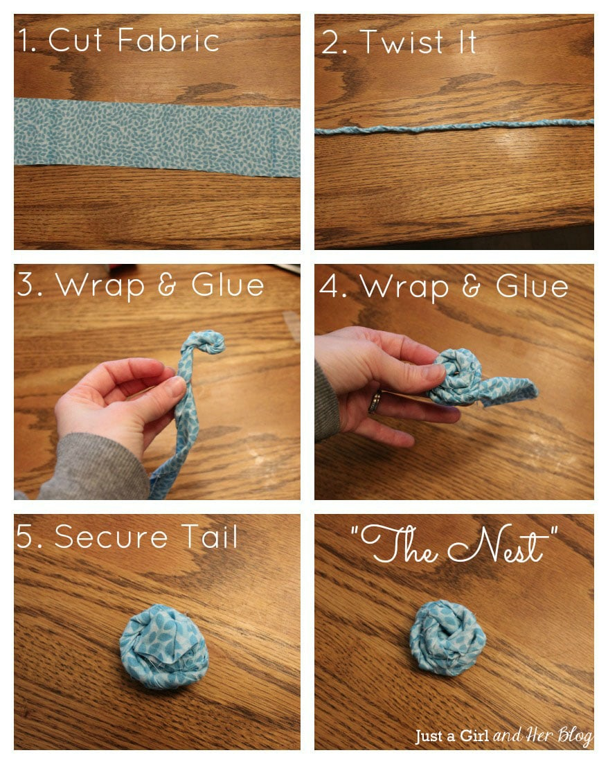 diy no sew ribbon flowers - photo #6
