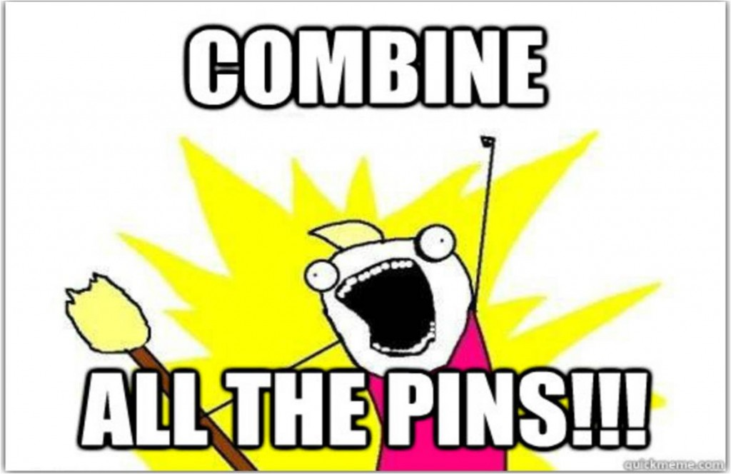 COMBINE ALL THE PINS!!!