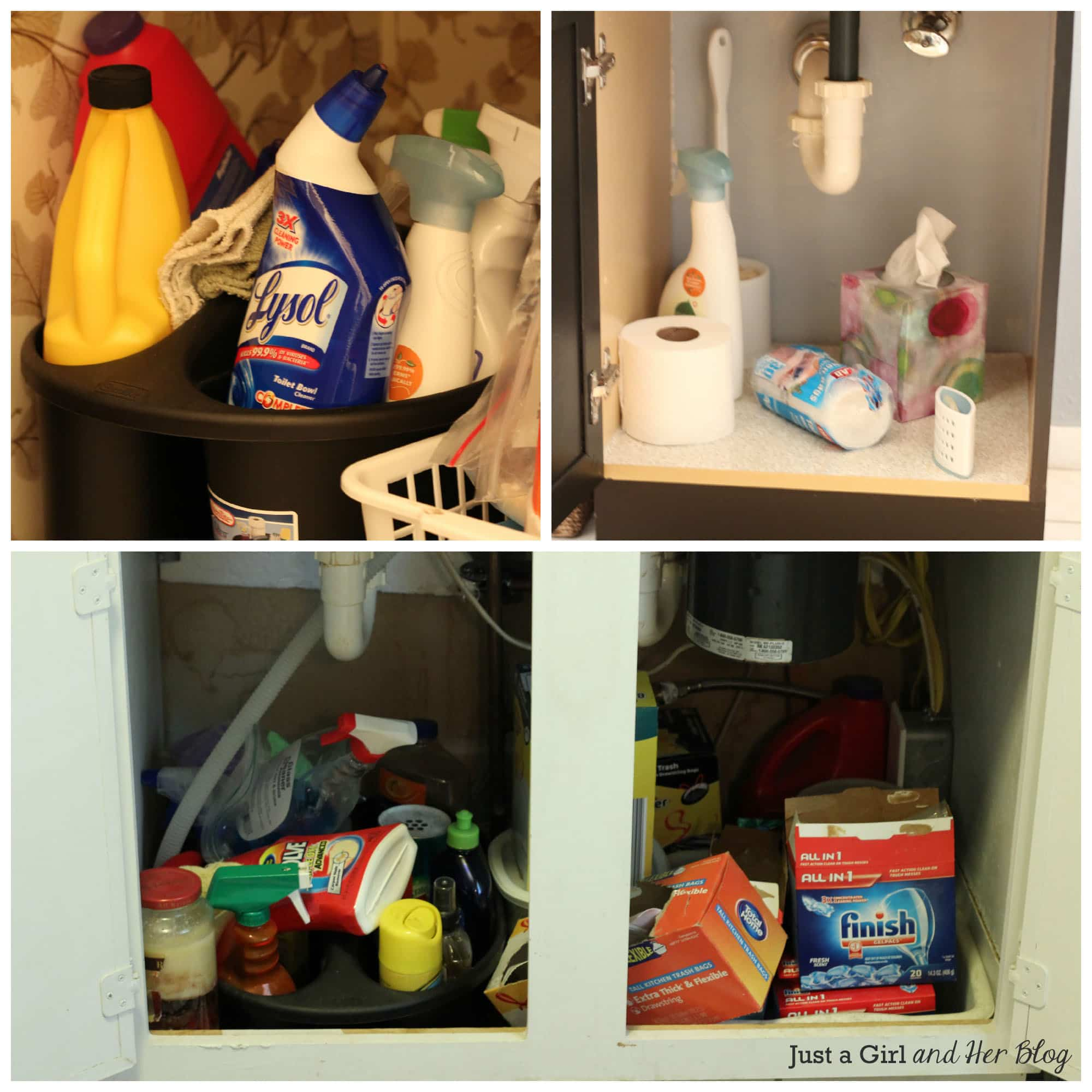 How To Organize Cleaning Supplies In Bathroom