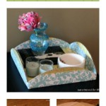 Dollar Decor: DIY Cake Platter Tray