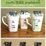 Last Minute Mama {DIY Teacher Gift with FREE Printable}