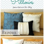 Dollar Decor: Pretty Pillows