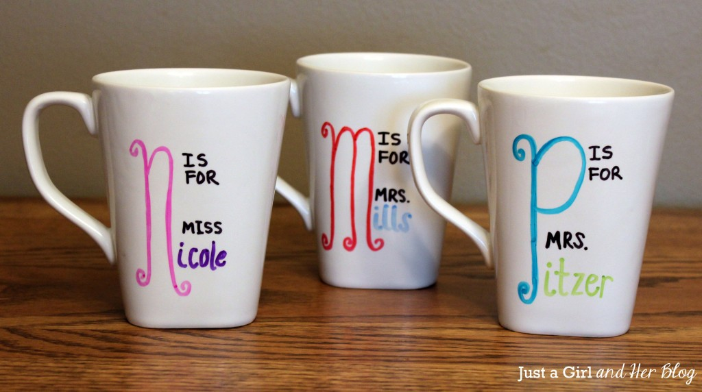 Mugs with Writing