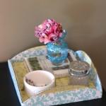 Dollar Decor: DIY Cake Platter Tray
