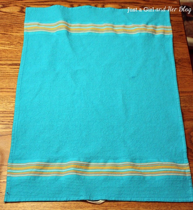 Dish Towel Tote Bag by Just a Girl and Her Blog