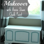 Trunk Makeover with Annie Sloan Chalk Paint