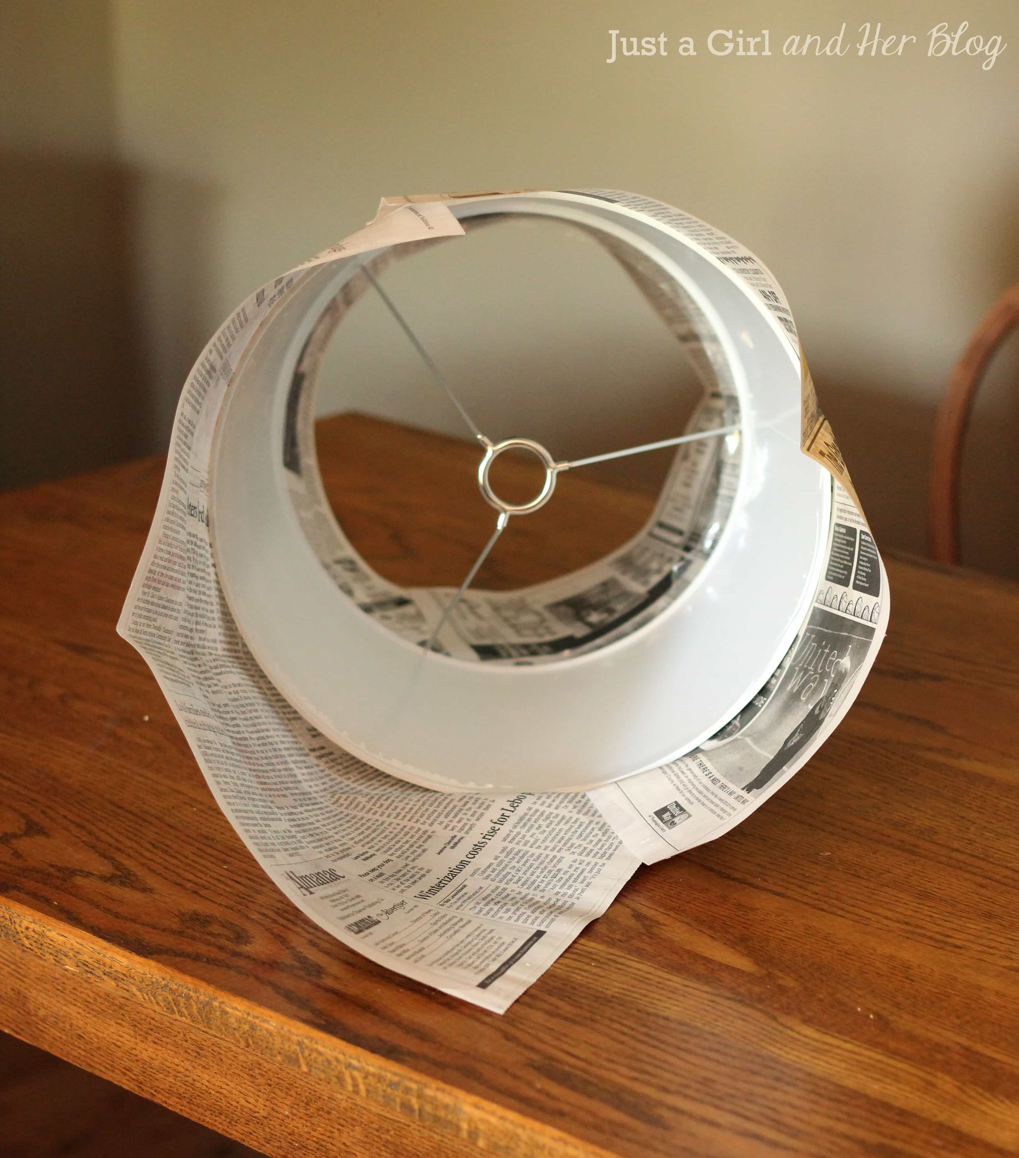 How To Transform A Lamp Shade With Fabric Abby Lawson