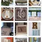 18 Marvelous DIY Monograms