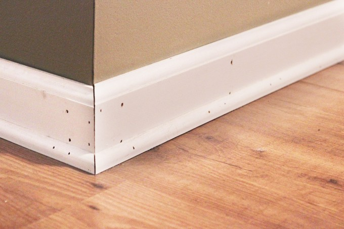 Definitely Read This Post Before You Start Patching And Painting Baseboards!  This Is The Easiest