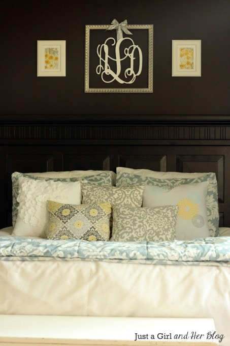 Master Bedroom Details by Just a Girl and Her Blog