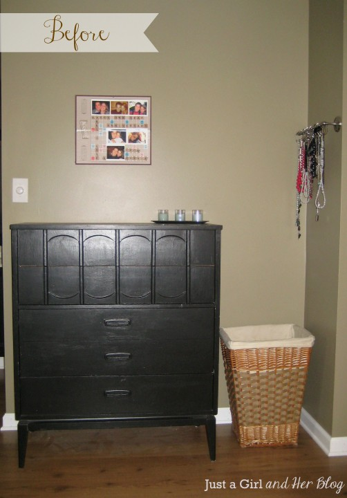 Master Bedroom Reveal by Just a Girl and Her Blog {Before}