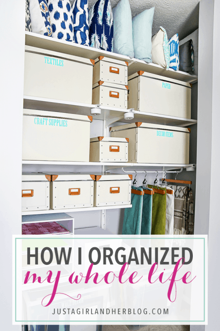 How I Organized My Whole Life