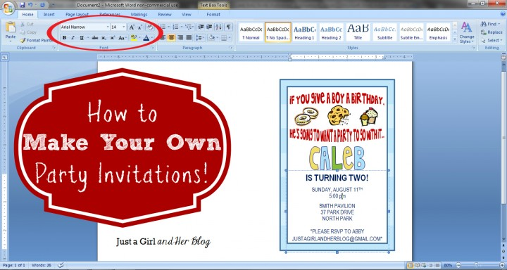 Birthday Invitation Maker Free with nice invitations example