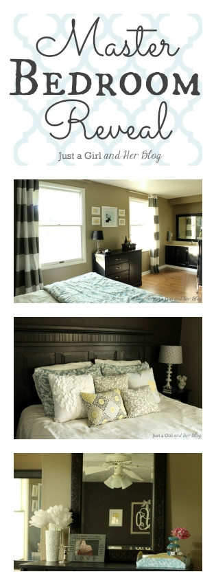 Master Bedroom Reveal by Just a Girl and Her Blog