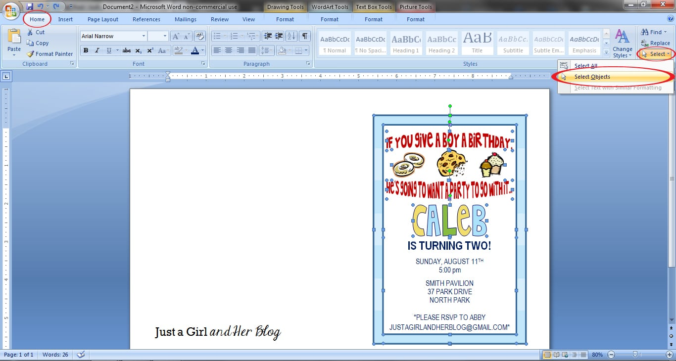 How To Make Your Own Party Invitations Abby Lawson
