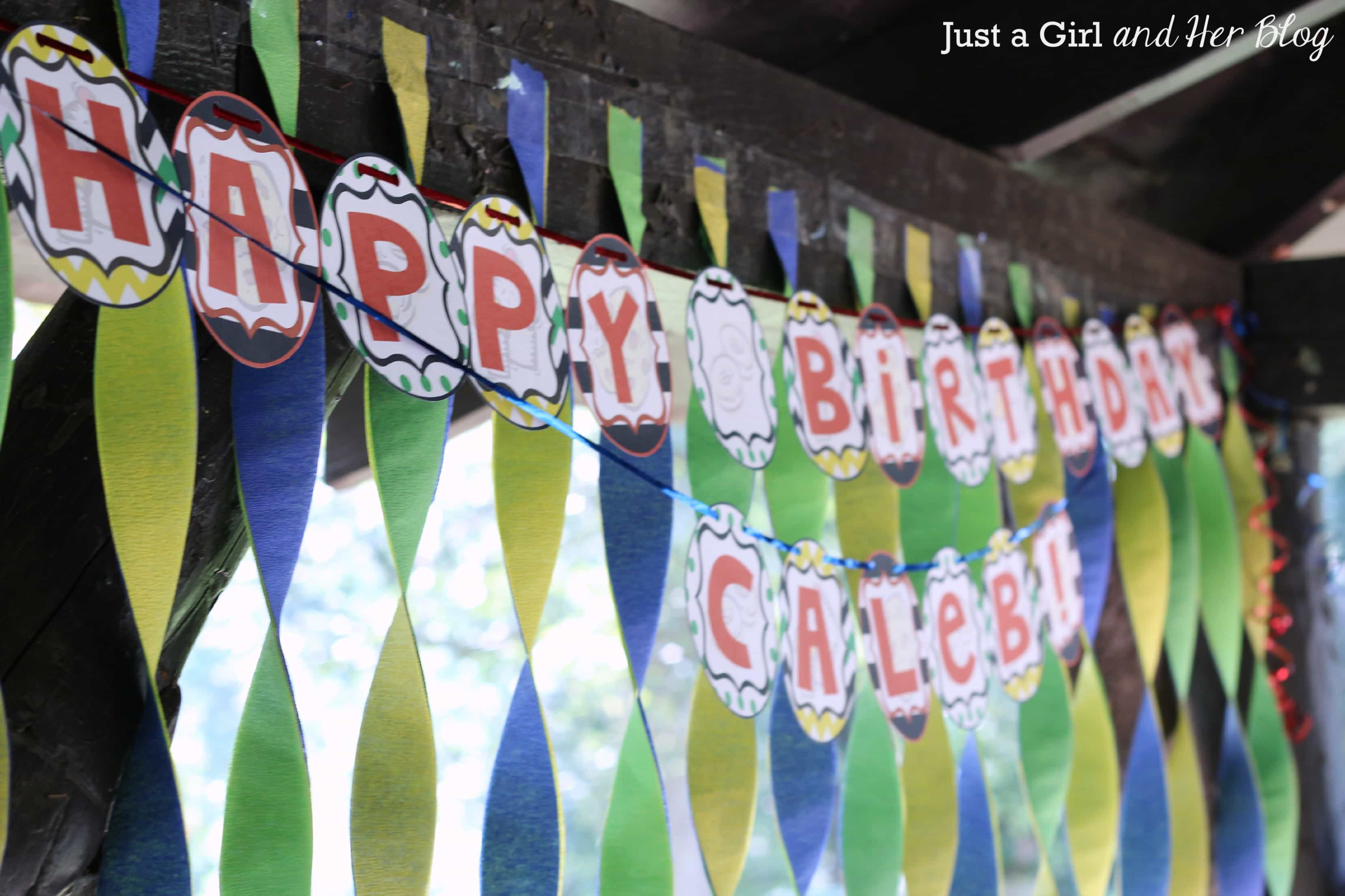 If You Give A Boy A Birthday Party Just A Girl And Her Blog