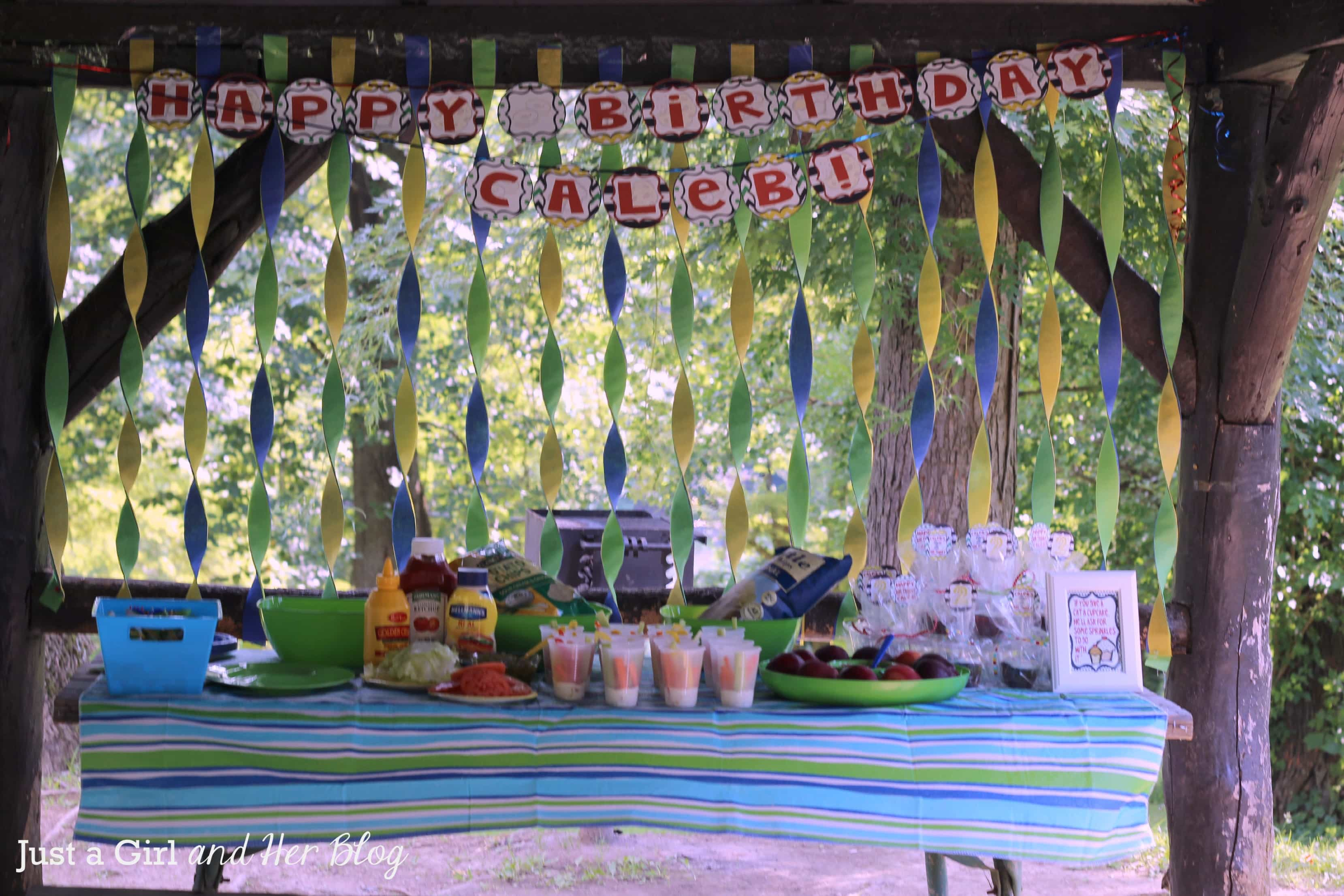 Decorating Ideas > If You Give A Boy A Birthday Party!  Just A Girl And  ~ 211929_Birthday Party Ideas Park