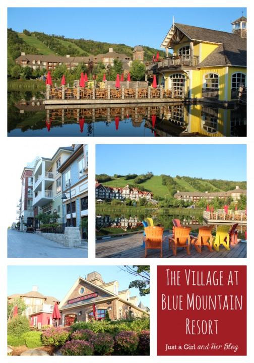 The Village at Blue Mountain Resort, Just a Girl and Her Blog