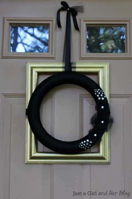 Glam Wreath by Just a Girl and Her Blog