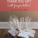 A Sweet and Simple Thank You Gift {with FREE Printable!}