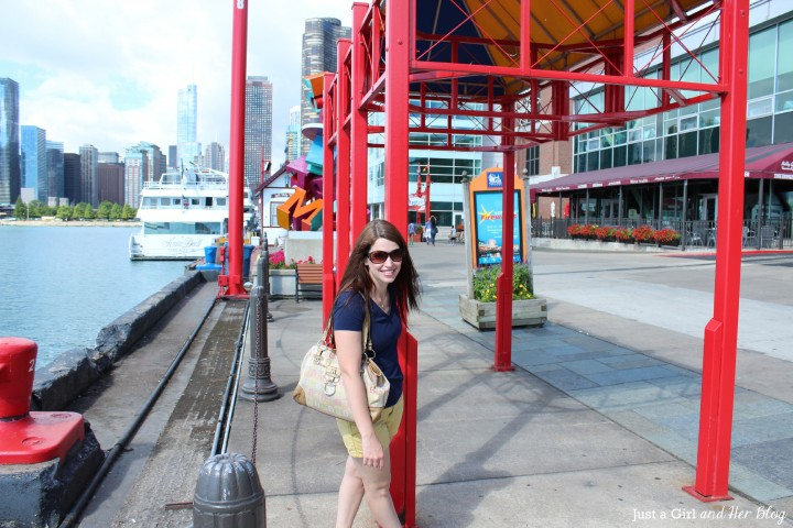 Abby on Navy Pier