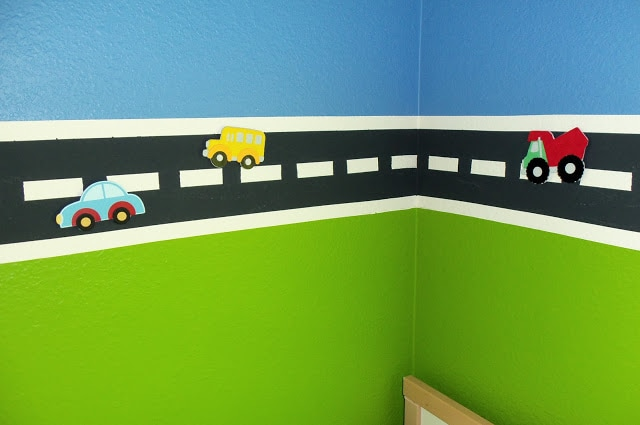 Cutesy Crafts Magnetic Road Wall