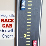 Magnetic Race Car Growth Chart