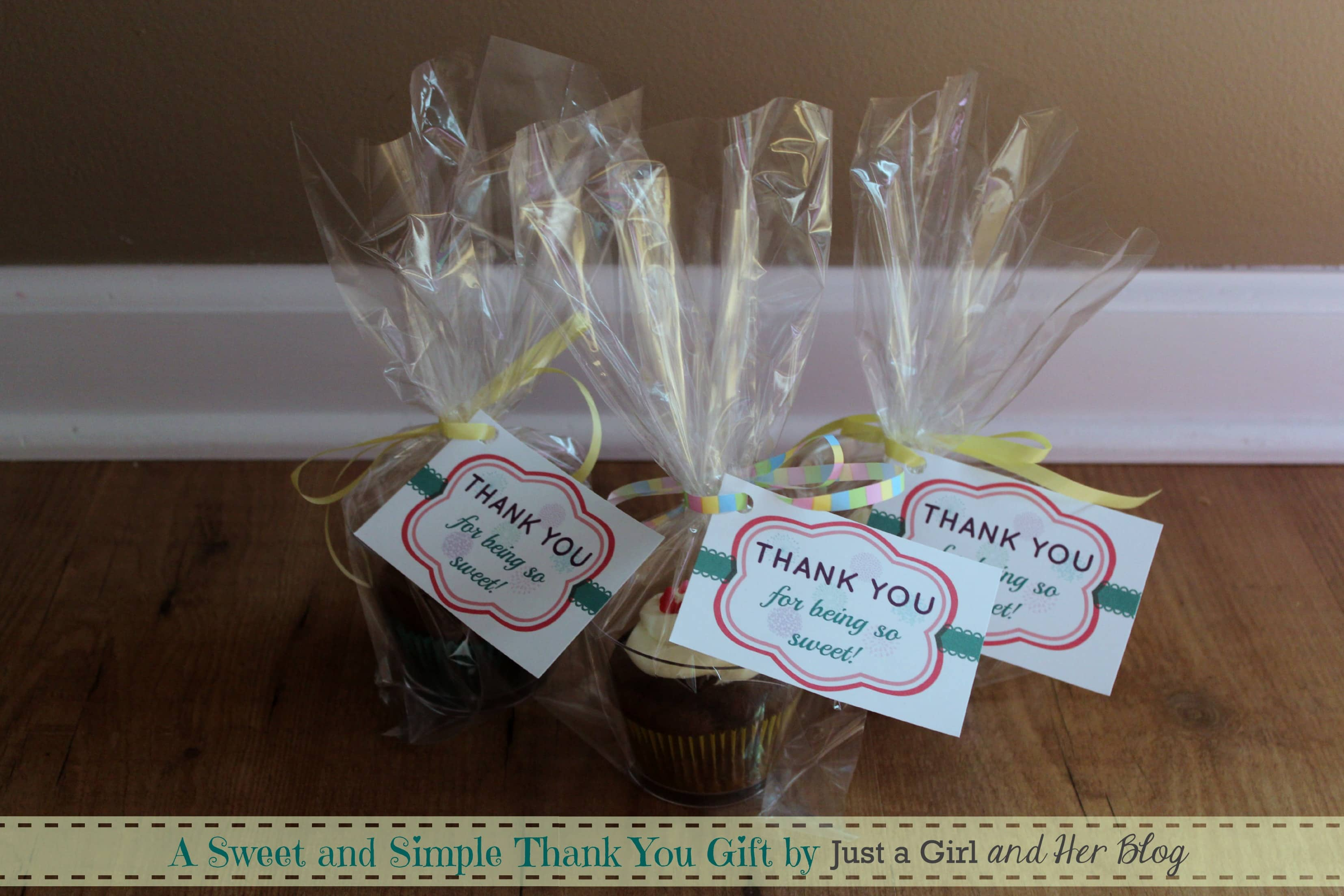 A Sweet And Simple Thank You Gift By Just Her Blog