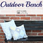 Shabby-to-Chic Outdoor Bench