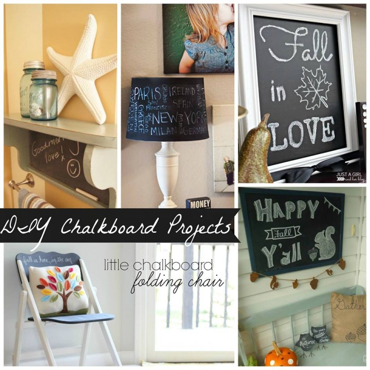 DIY Chalkboard Art by Just a Girl and Her Blog
